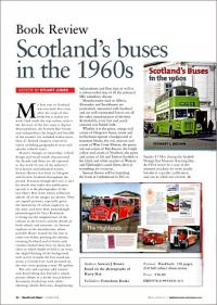 Bus & Coach Buyer review of Scotland's Buses in the 1960s