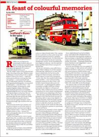 Buses review of Scotland's Buses in the 1960s