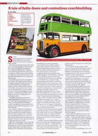 Buses review of Glasgow's Buses