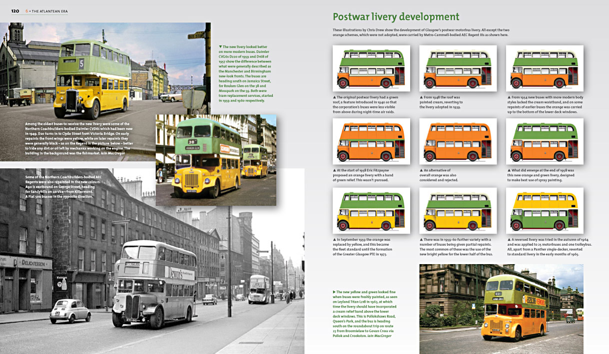 popup|Glasgow's Buses – focus on livery variations