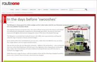 Route One review of Scotland's Buses in the 1960s